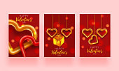 Valentine day set card. Festive romantic background. Love poster special concept. Promotion brochure to Valentines day.