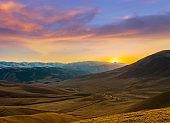 mountain landscape near Almaty, Kazakhstan
