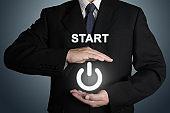 Start decision change business leadership