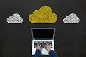 Cloud computing internet network security data