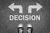 Decision choice start freedom journey