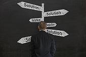Problem solution business decision choice