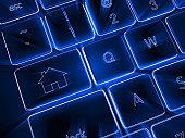 House real estate internet advertisement