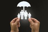 Risk life health insurance protection umbrella family