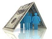 Medical insurance healthcare family finance