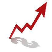Business growth chart graph success