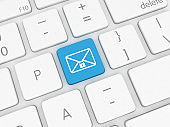 Email online messaging cyber security lock