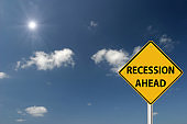 Recession ahead finance crisis warning sign