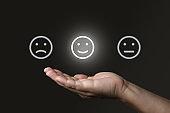 Customer satisfaction survey feedback choice