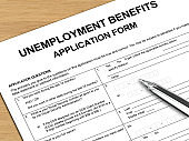 Unemployment benefits insurance application form