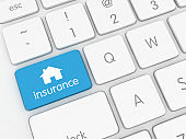 Online home insurance protection