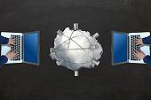 Cloud computing network security internet data