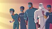 Doctors Heroes Team Dusk