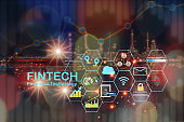 Financial technology is changing energy industry background