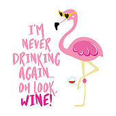 I am never drinking again. Oh look, wine!