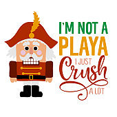 I am not a playa, I just crush a lot