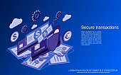 Secure transaction vector concept