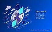 Data transfer vector concept