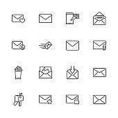 Mail - Flat Vector Icons