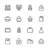 Bag - Flat Vector Icons