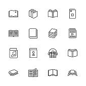 Books - Flat Vector Icons