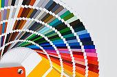 Paint samples catalog