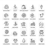 Premium Quality Ecology Icon Set
