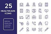 Healthcare Line Icon Design