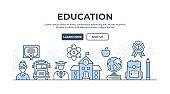 Education Thin Line Icon