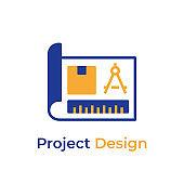 Project Design color icon