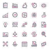 Corporate Business Multicolor Icon Set