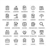 Premium Quality Compliance Icon Set