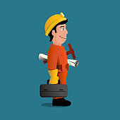Engineer Stock Illustration