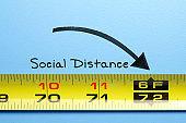 Six Foot Social Distancing