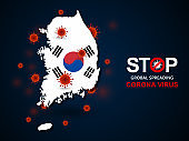 virus around South Korea