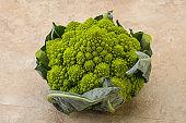 Vegan organic food - Romanesco cabbage