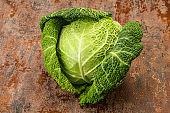 Organic Savoy Cabbage for cooking