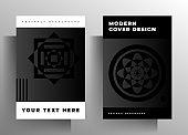 Cover for book, magazine, brochure, booklet, catalog, folder, poster set of templates