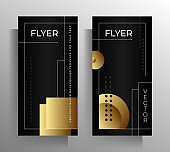 Set of cover templates for banner, poster, flyer.