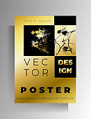 Cover, poster template design