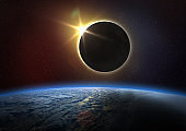 Earth and Solar Eclipse.