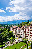 Italy - Asolo, a town listed in the club The most beautiful villages in Italy