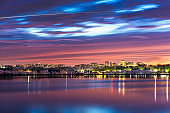 Washington DC, USA Skyline on the River