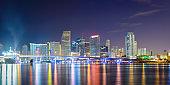 Miami, Florida, USA on Biscayne Bay