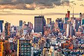 New York, New York, USA West Side Manhattan Cityscape