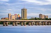 Tulsa, Oklahoma, USA on the Arkansas River