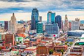 Kansas City, Missouri, USA Cityscape
