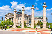 Columbia, Missouri, USA at Boone County Courthouse.