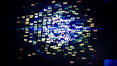 Internet of Things, Big Data, Computer Network, Binary Code, Cyber Crime