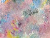 Multi colored pastel background